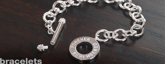 Cremation Memorial Jewelry-Bracelets