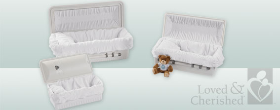 Burial Vaults-Infant Casket-