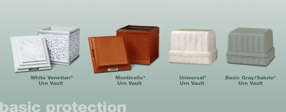 Crematin Urn Vaults-Basic Protection