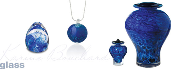 Cremation Urns-Glass