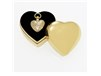 Sculpted Heart with Plain Case