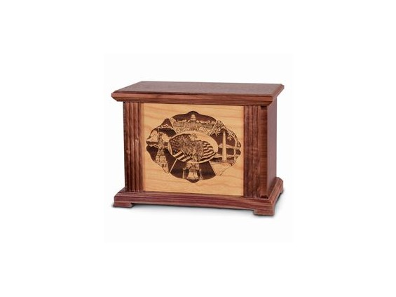 Lifescenes Urn - Wood Collection