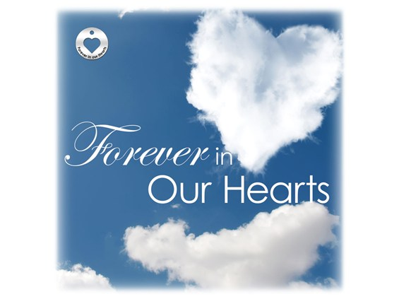 Forever in our Hearts Cloud Urn Vault Image