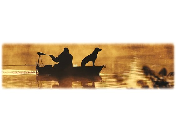 Fisherman with dog-Wilbert Legacy II Print