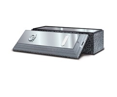 Stainless Steel Triune Burial Vault-Standard Protection