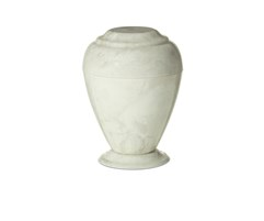 Georgian White Carrera Urn
