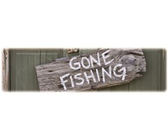 Gone Fishing-Wilbert Legacy II Print