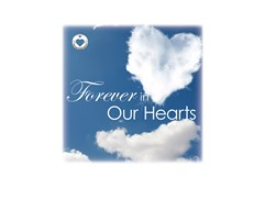 Forever in our Hearts-Cloud Image for urn vaults