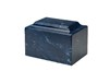 Cultured Marble Navy Urn