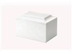 Cultured Marble White Urn