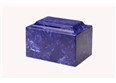 Cultured Marble Cobalt Urn