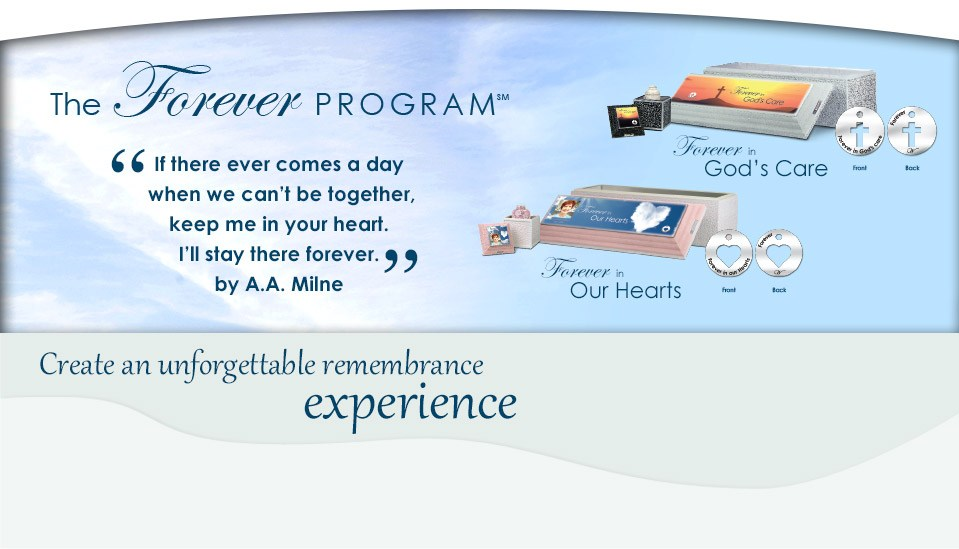 Create an unforgettable remembrance experience