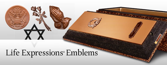 Burial Vaults Personalization-Life's Expressions Emblems