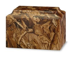 Themed Applique-Camouflage Urn