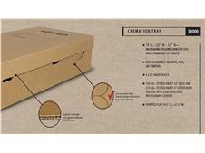 Cardboard Cremation Tray