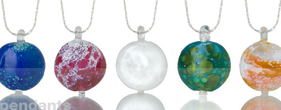 Cremation Memorial Jewelry-Pendants