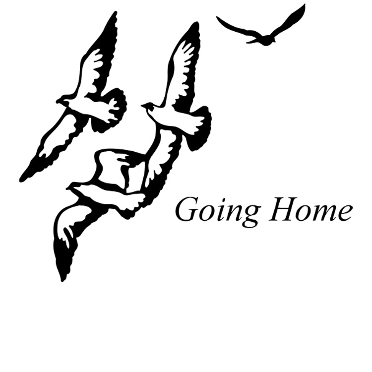 Going Home-Life's Reflections Vault Appliqué