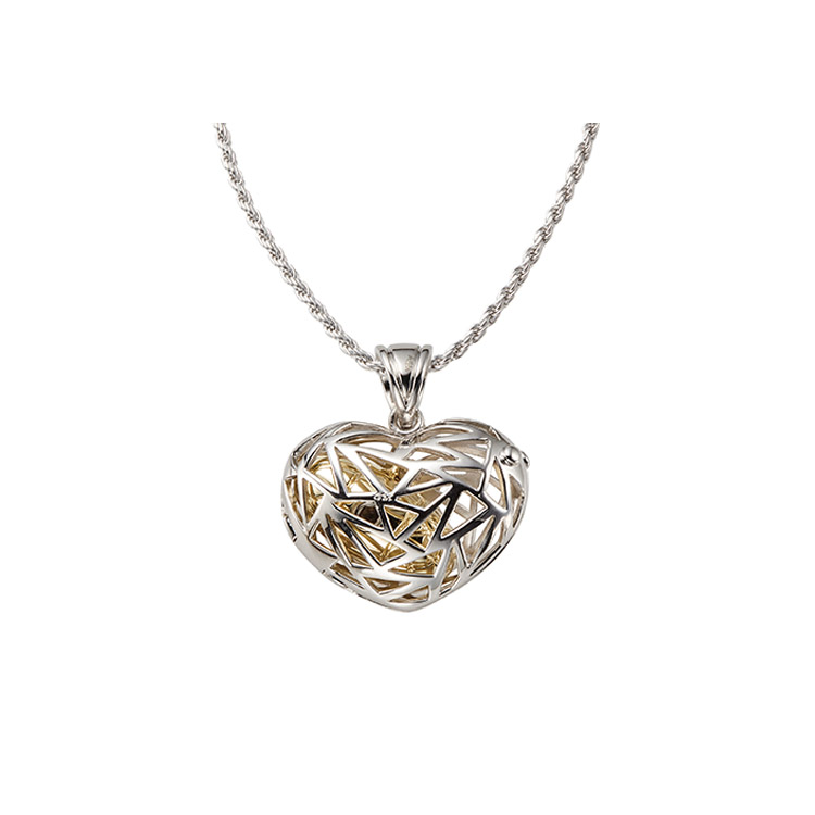 Filagree Heart Pendant