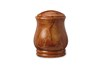 Alabaster Brown Urn