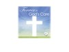 Forever in God's Care-Cross in Sky Image for urn vaults