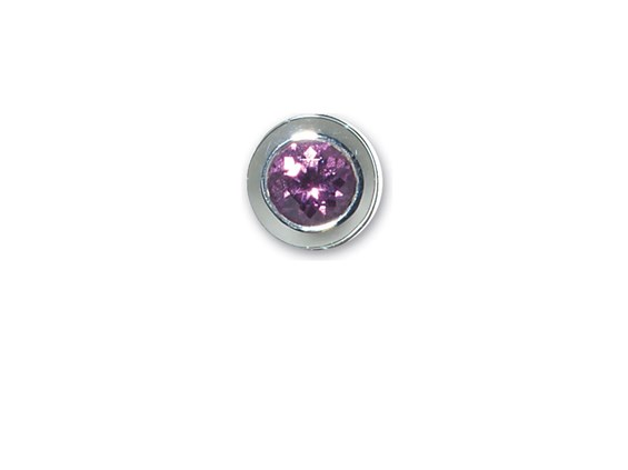 End Cap-February-Simulated Amethyst Memorial Jewelry