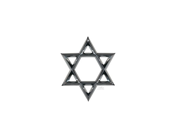 Star of David-Life Expressions Burial Vault Emblem