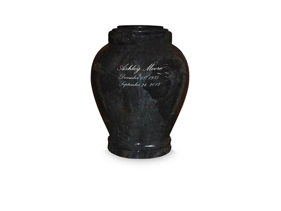 Embrace Ebony Urn