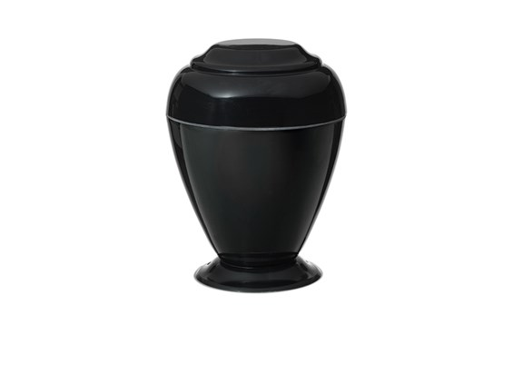 Georgian Black Night Urn