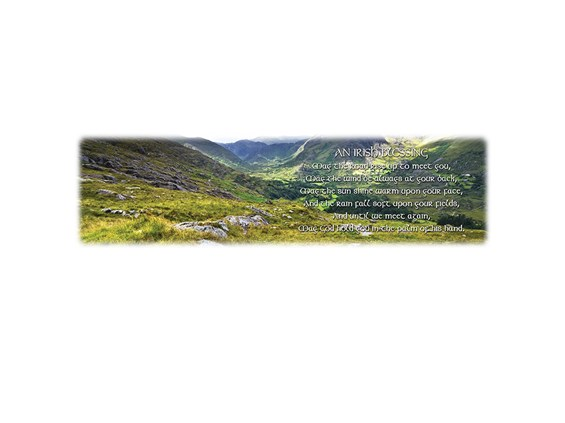 Irish Blessing-Wilbert Legacy Two Print
