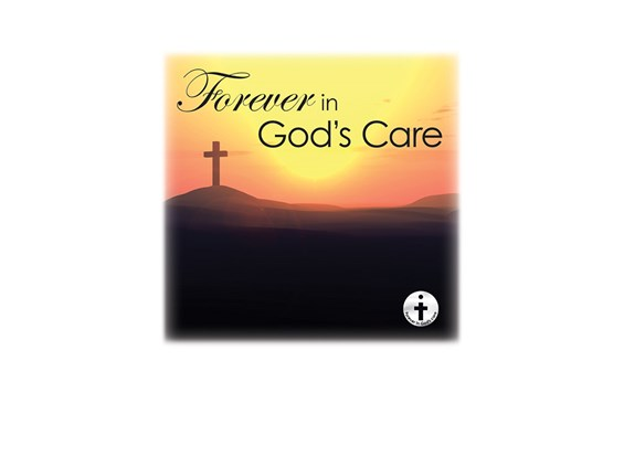 Forever in God's Care-Sunset Image for urn vaults