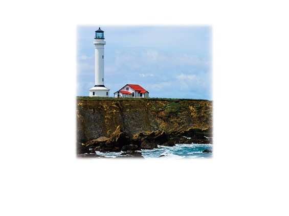Lighthouse-Legacy Two Urn Vault Print