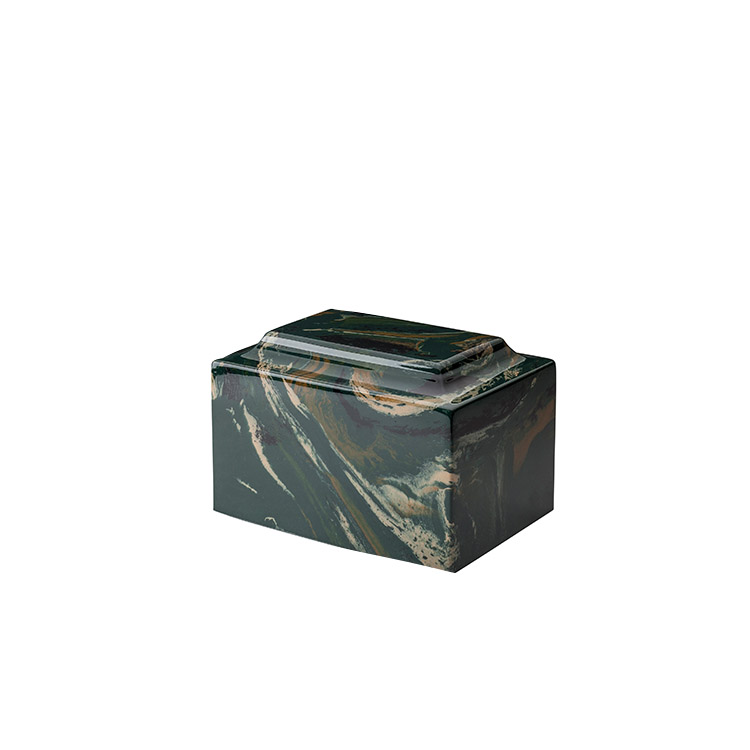 Cultured Marble Camouflage Urn