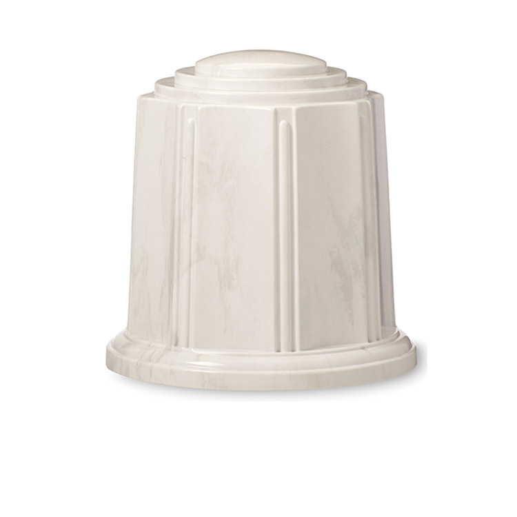 Regal Urn White/Silver