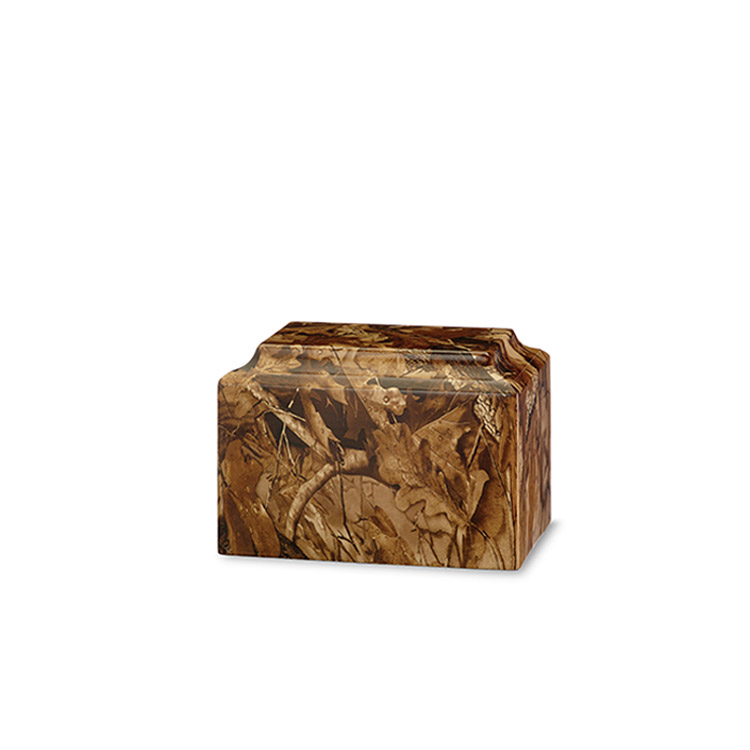 Themed Applique Camouflage Urn
