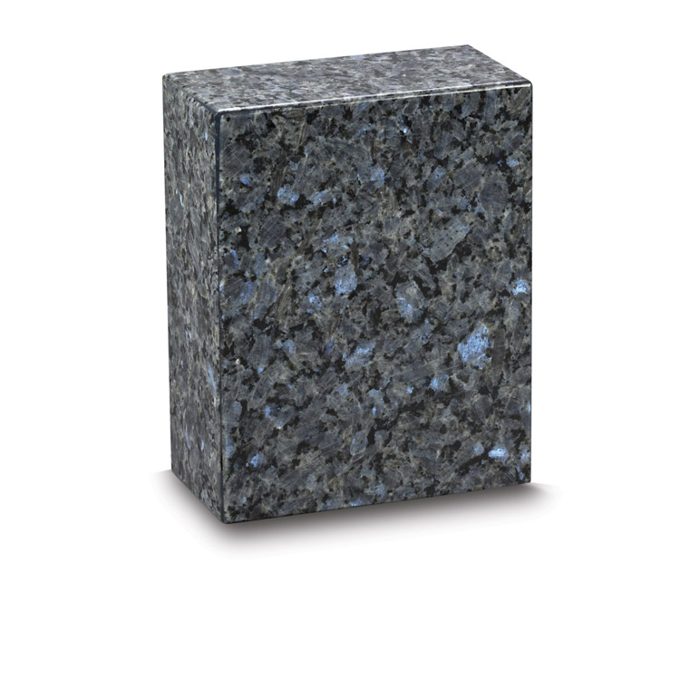 Eternity Blue Pearl Granite Urn