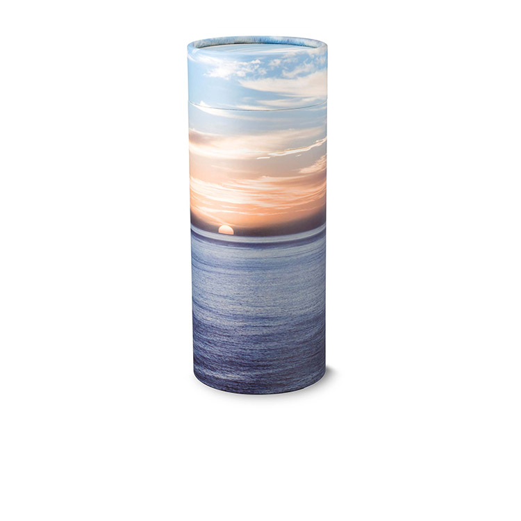 Ocean Sunset Scattering Tube