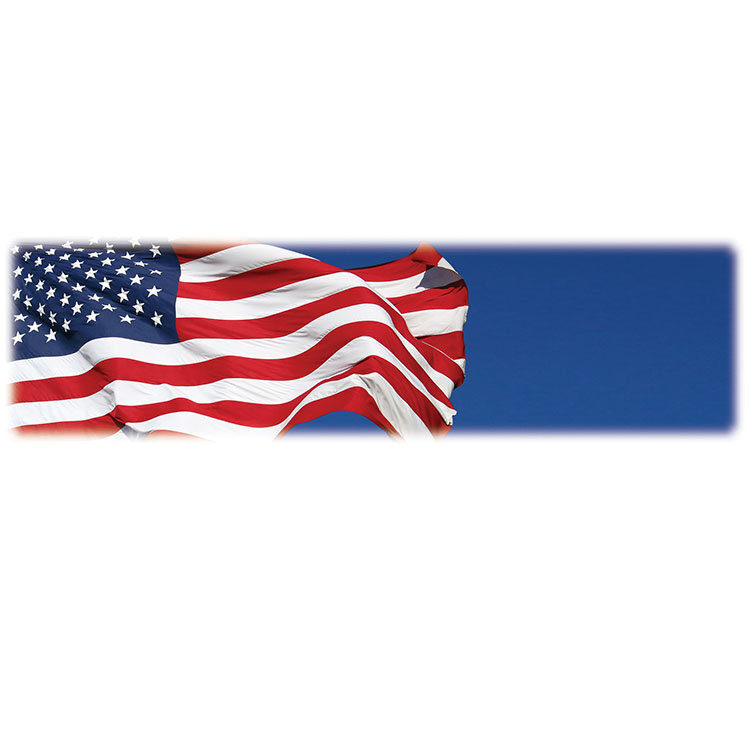 U.S. Flag-Wilbert Legacy Two Print