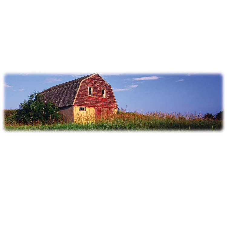 Red Barn-Wilbert Legacy Two Print
