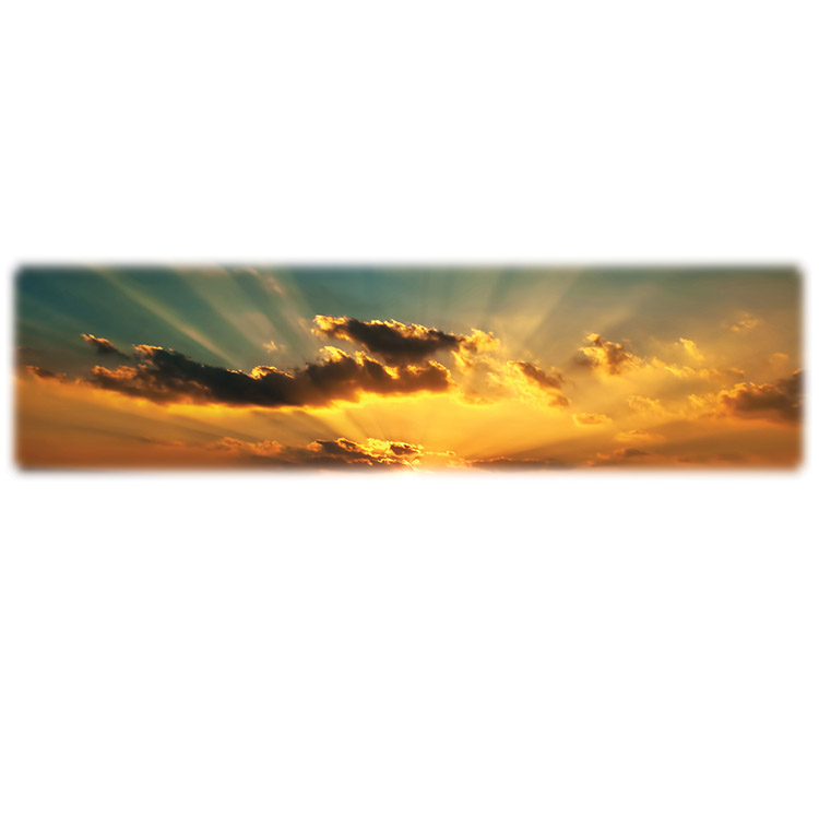 Sunrise/Sunset 1-Wilbert Legacy Two Print