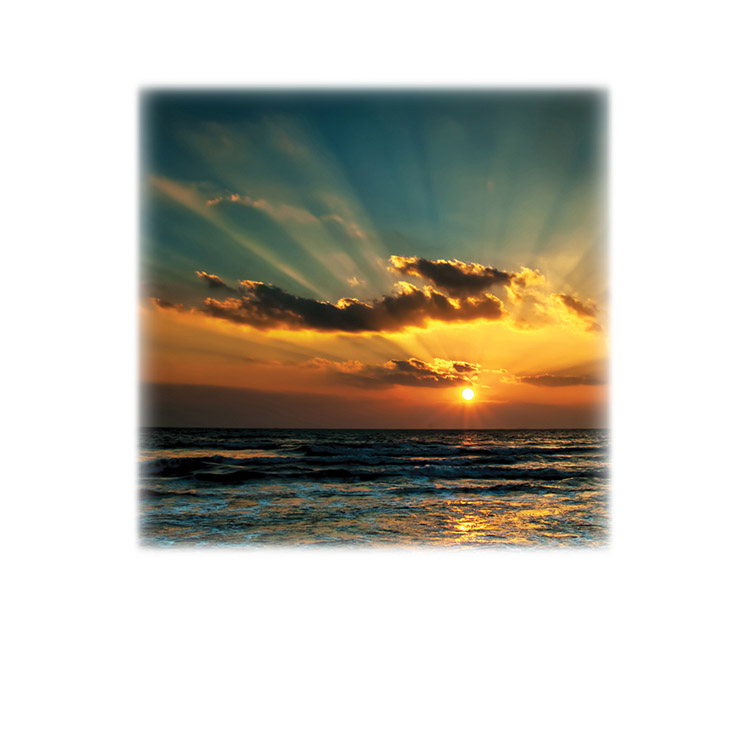 Sunrise-Sunset 1-Legacy Two Urn Vault Print