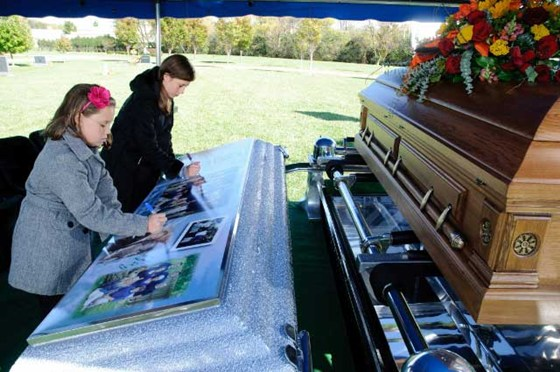 Traditional Burial Wilbert Ovation Graveside And