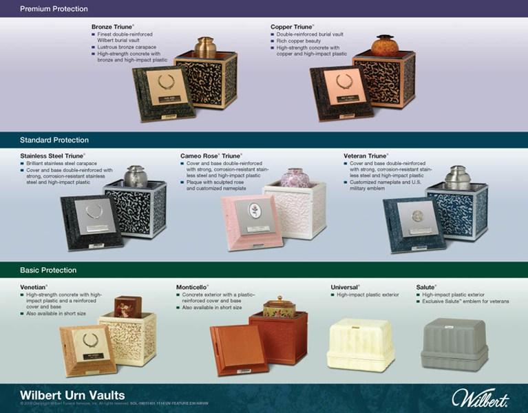 Urn Vault Graphics Wilbert Funeral Services