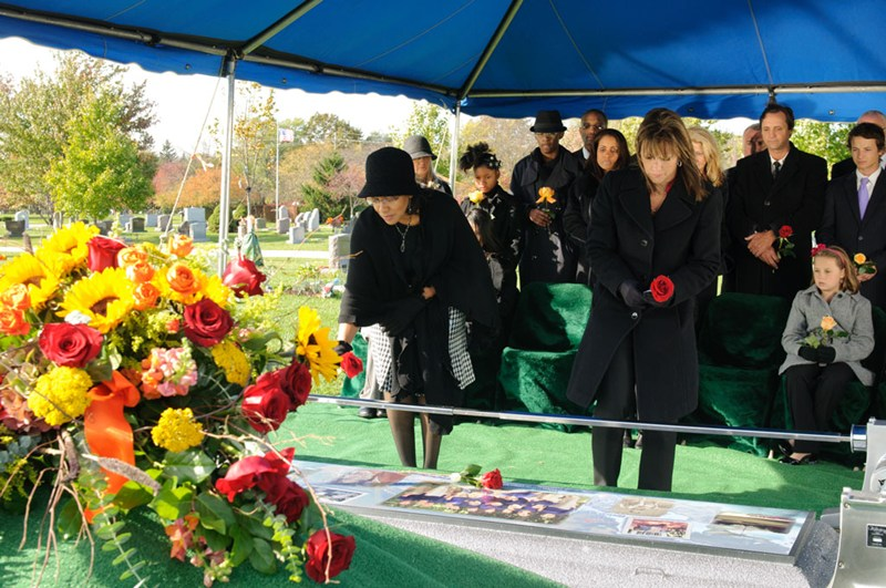 graveside service for burial families wilbert funeral services