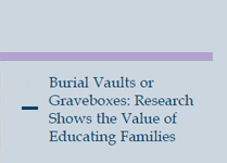 Burial Vaults or Graveboxes