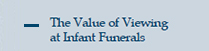 Value of Viewing at Infant Funerals